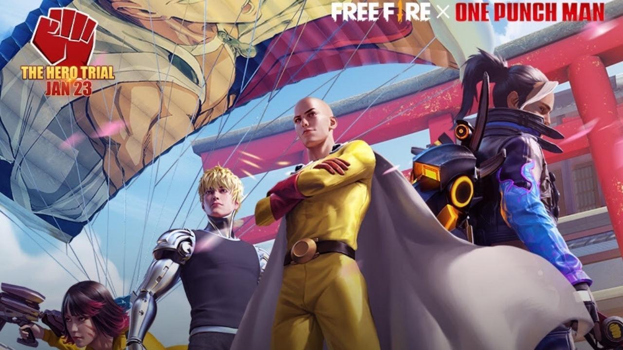 Evento de Free Fire de One-Punch Man