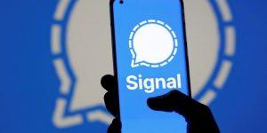funções de segurança do Signal