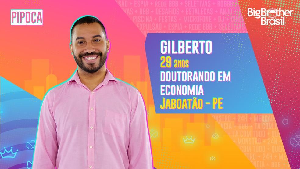 Gilberto, BBB 21