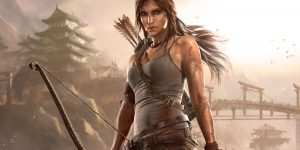 Lara Croft, do game Tomb Raider