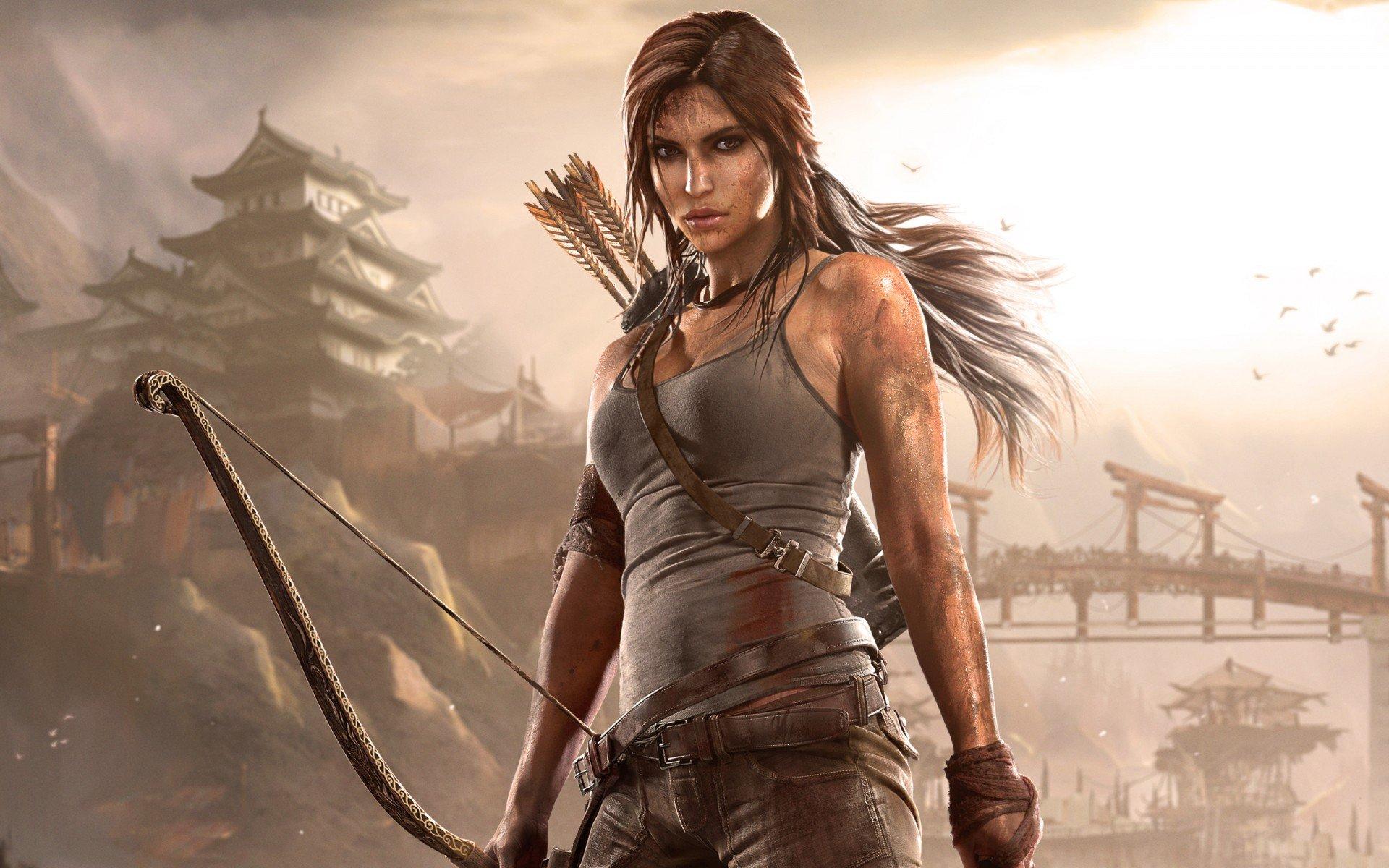 Lara Croft, do game Tomb Raider