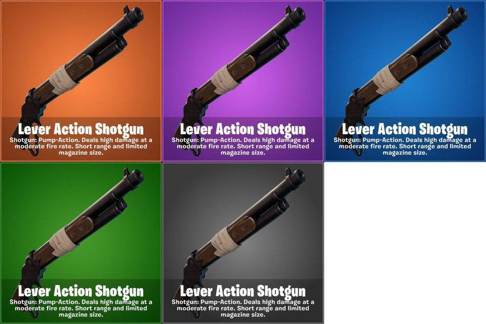 Lever Action Shotgun, nova arma do Fortnite
