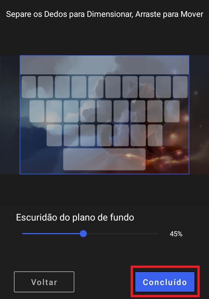 Como personalizar fundo do teclado Android