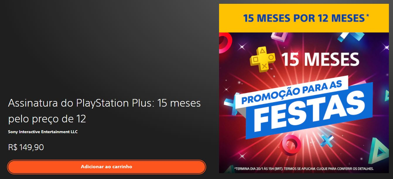 Oferta PlayStation Plus