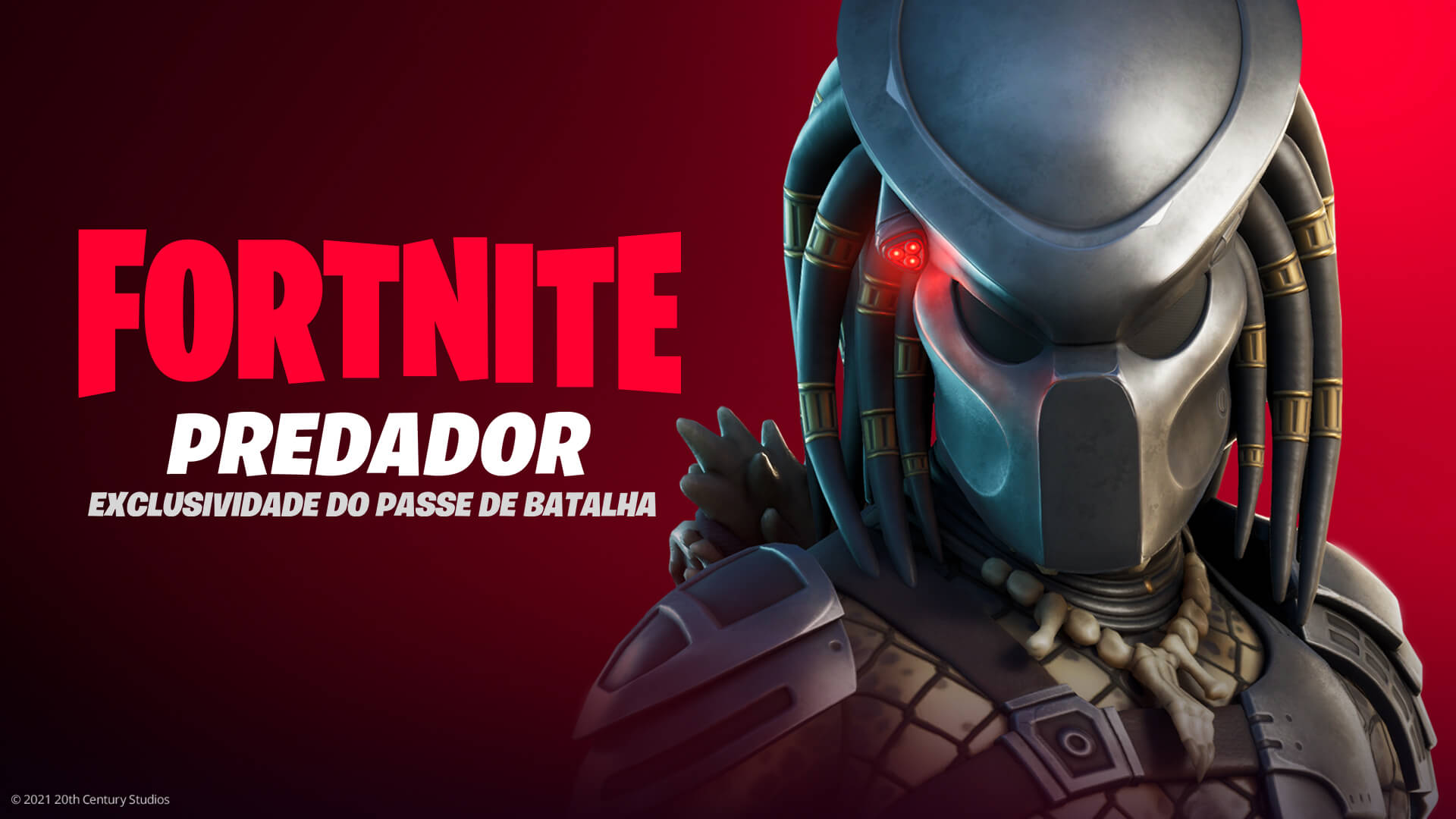 Predador no Fortnite