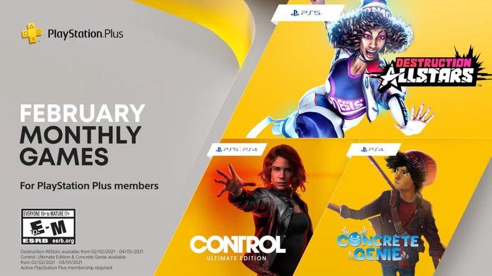 Jogos grátis da PS Plus de fevereiro de 2021
