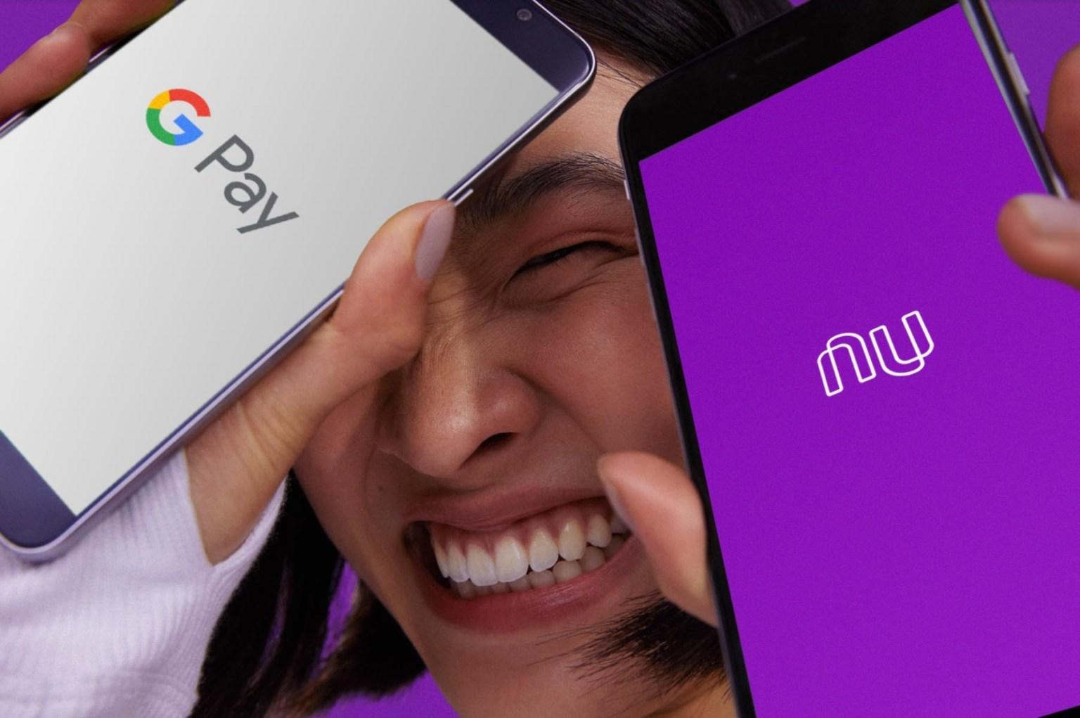 Nubank no Google Pay