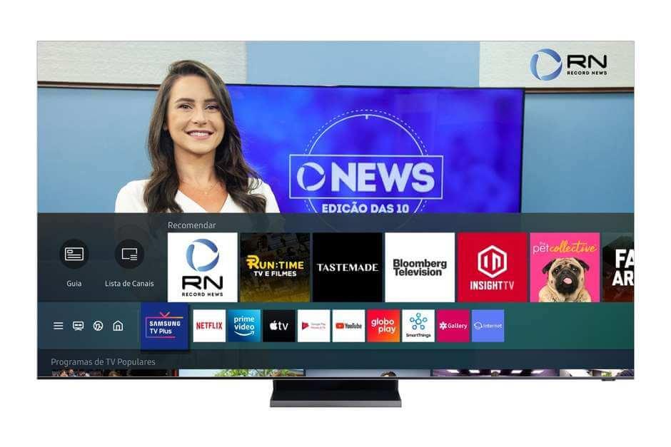 Samsung TV Plus e Pluto TV ganham novos canais gratuitos