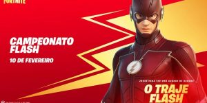 Campeonato Flash no Fortnite