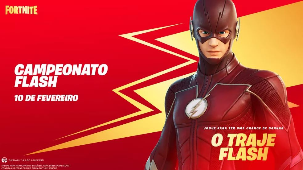 Campeonato Flash no Fortnite