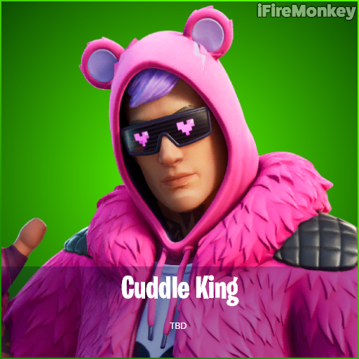 Cuddle King, skin de Dia dos Namorados do Fortnite