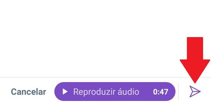 Como enviar áudio no Twitter via DM