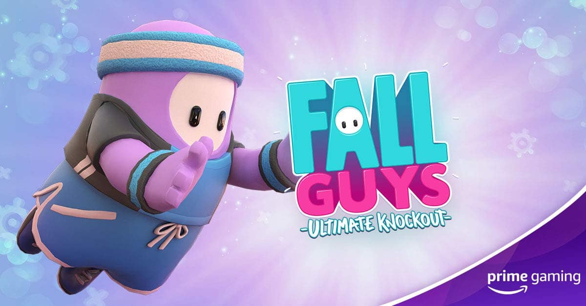 Pacote de Fall Guys para assinantes do Prime Gaming
