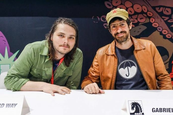 Gerard Way e Gabriel Bá