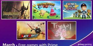 Jogos grátis para assinantes do Prime Gaming em março de 2021