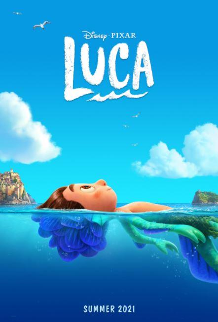 Luca, nova animação da Pixar