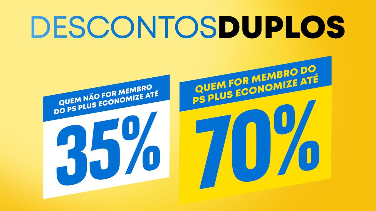 Promoção Descontos Duplos da PlayStation Store