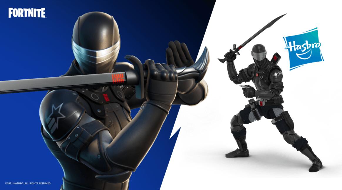 Snake Eyes, a nova skin do Fortnite