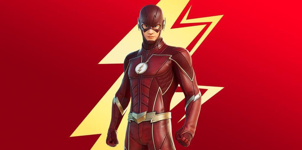 The Flash, nova skin do Fortnite