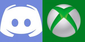 Logo do Xbox ao lado da logo do Discord