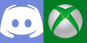 Logo do Xbox ao lado da logo do Discord