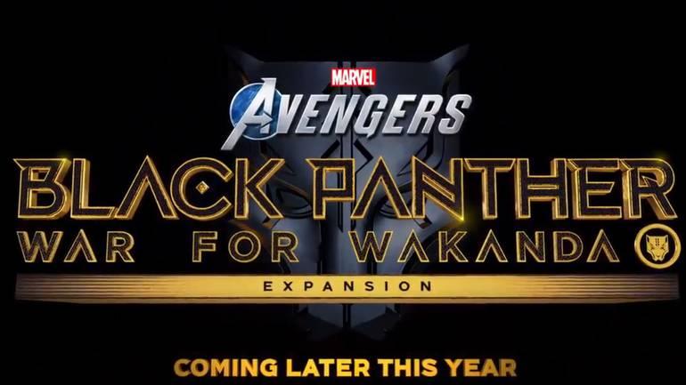 Black Panter - Square Enix Presents Marvel Advengers