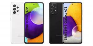 Pré-venda do Galaxy A52 e A72