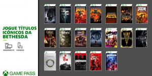 Jogos da Bethesda que chegam amanhã ao Xbox Game Pass