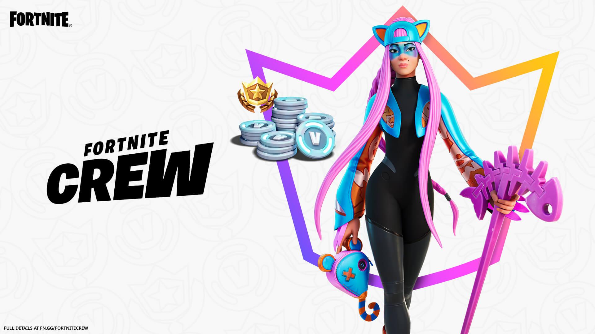 Alli, a nova skin do Clube Fortnite de abril de 2021