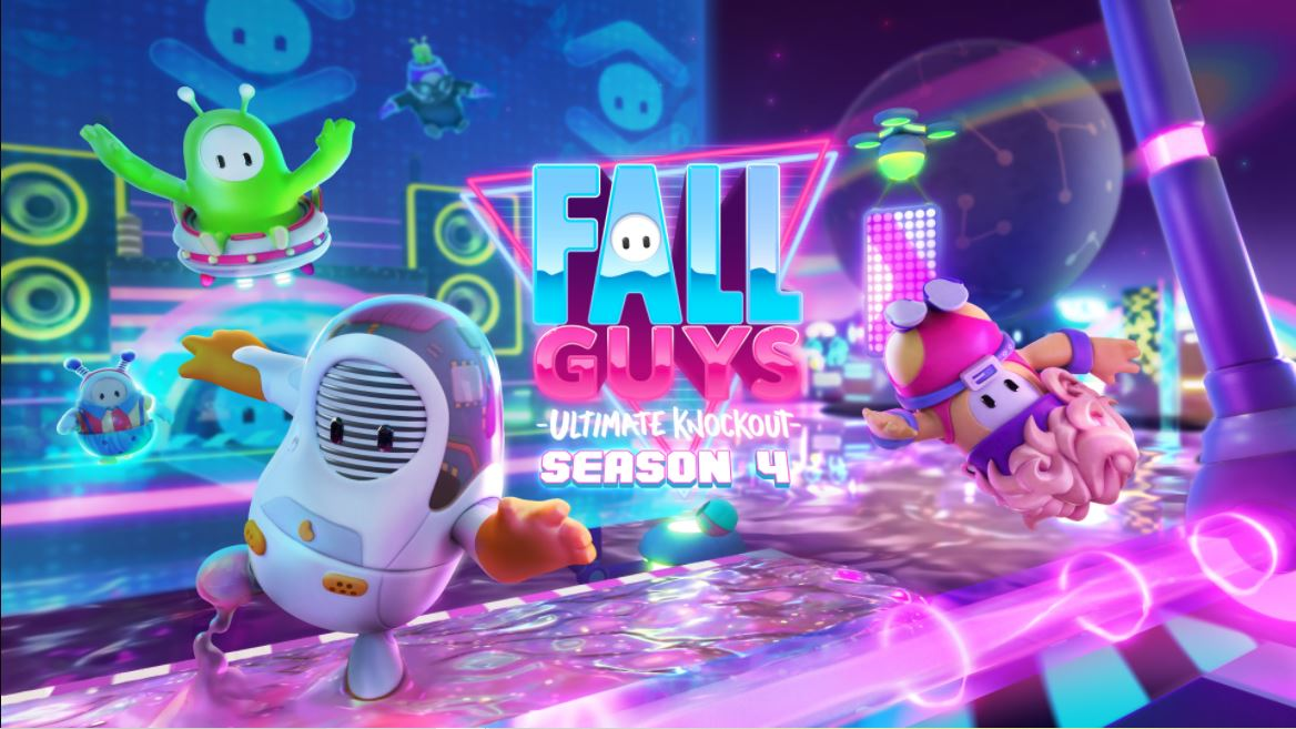 Imagem de divulgação da Temporada 4 de Fall Guys