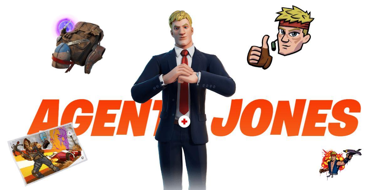 Fortnite - Temporada 6 - Agente Jones