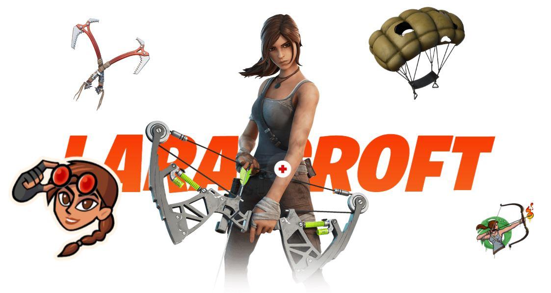 Fortnite - Temporada 6 - Lara Croft
