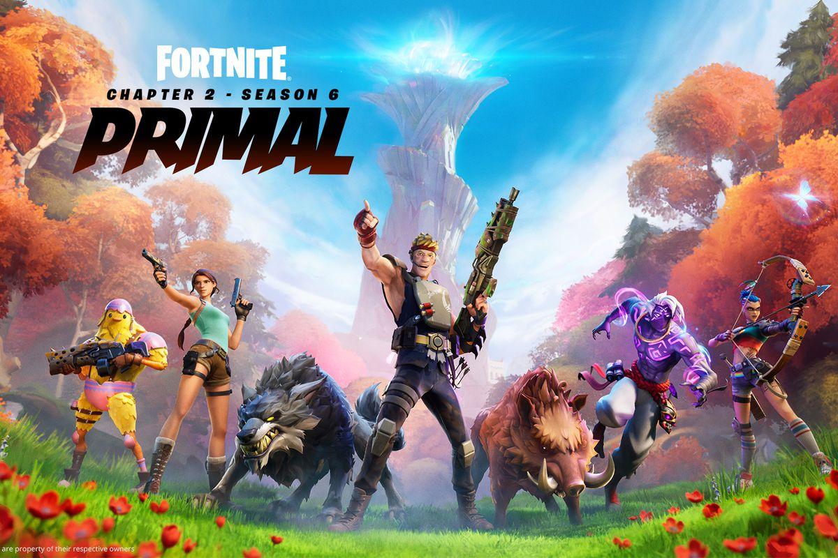 Fortnite - Temporada 6 - Primal