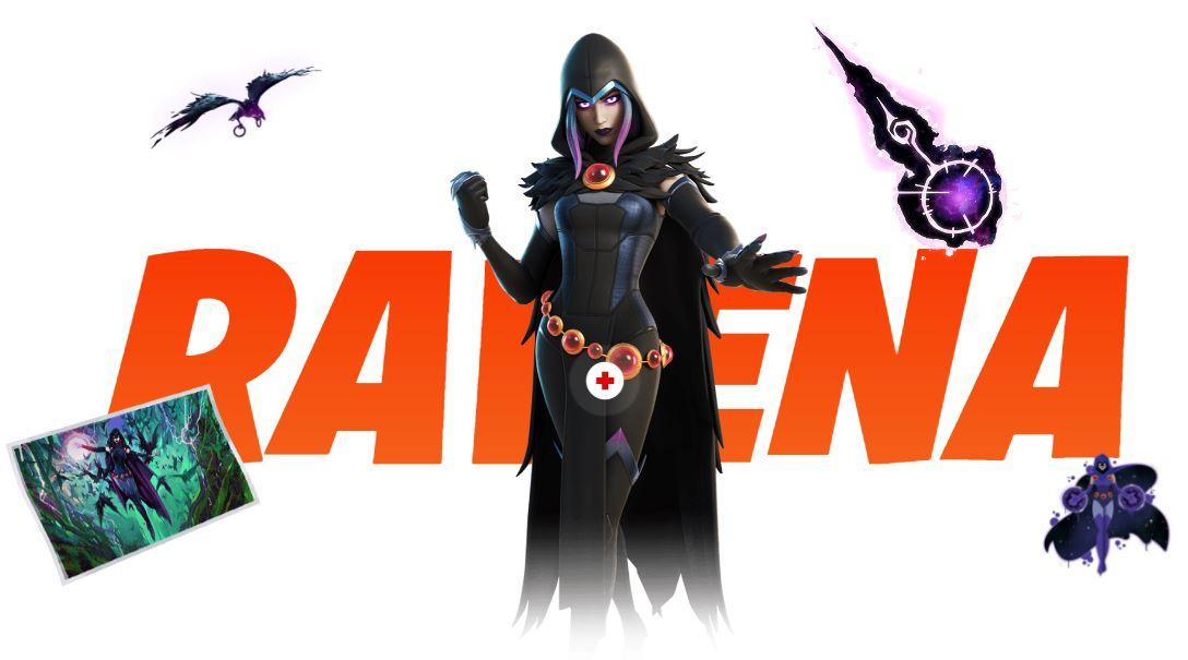 Fortnite - Temporada 6 - Ravena