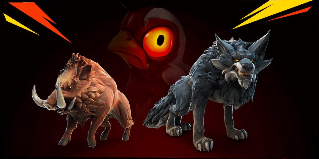 Fortnite | Sistema de domesticação de animais