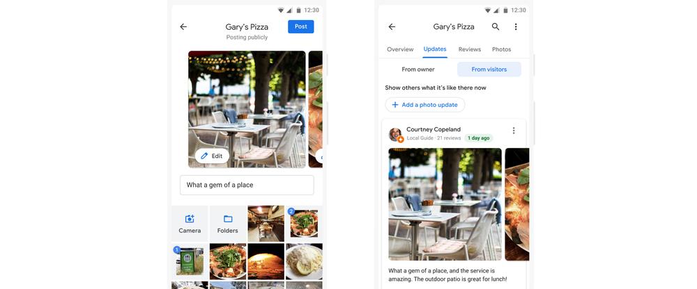 Fotos de restaurante do guia local do Google Maps