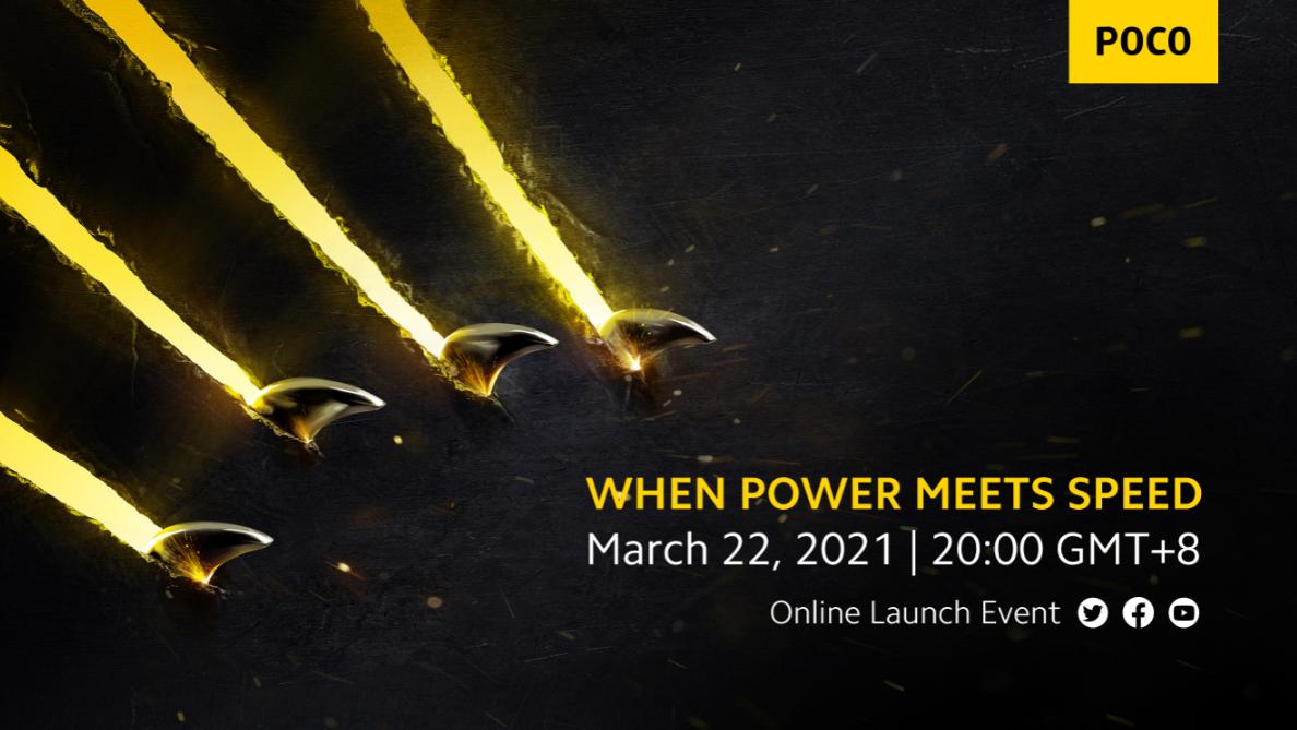 Banner evento de lançamento POCO