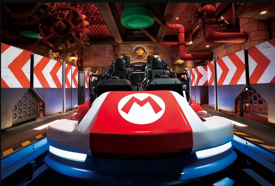 carrinho para corrida real Mario Kart