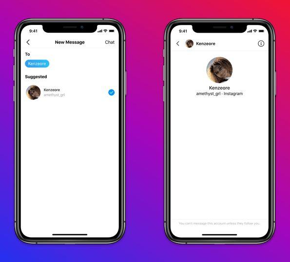 Novos recursos de segurança para adolescentes do instagram