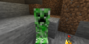 Creeper no Minecraft