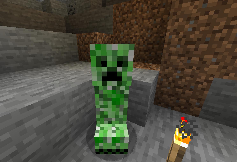 Creeper no Minecraft