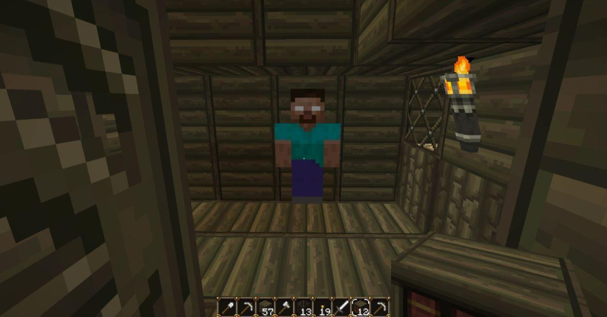 Herobrine no Minecraft