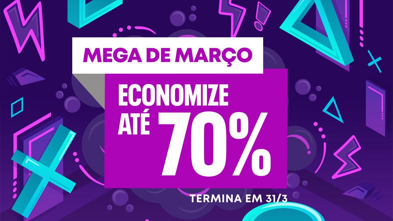 """Promoção """"Mega de Março"""" da PlayStation Store"""