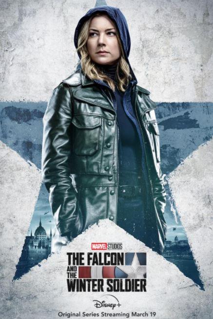 Poster Falcão e o Soldado Invernal