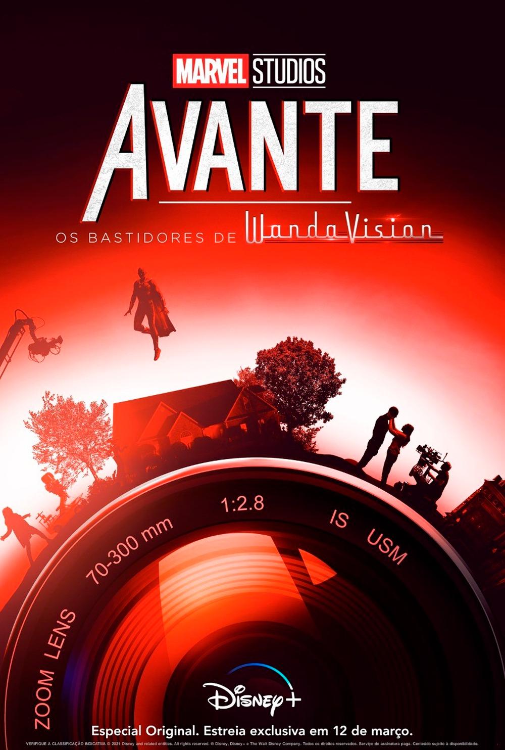 "Primeiro poster oficial de ""Avante"", da Marvel Studios."