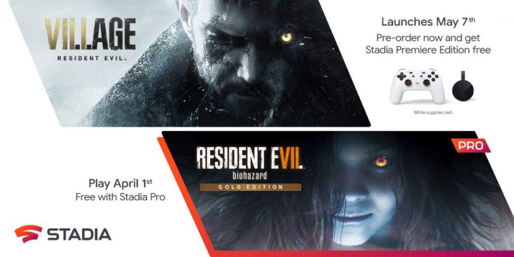 Resident Evil Village e Resident Evil 7 para Stadia