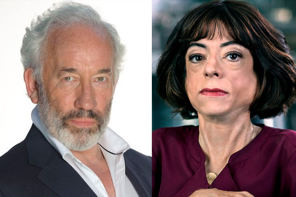 Simon Callow e Lizz
