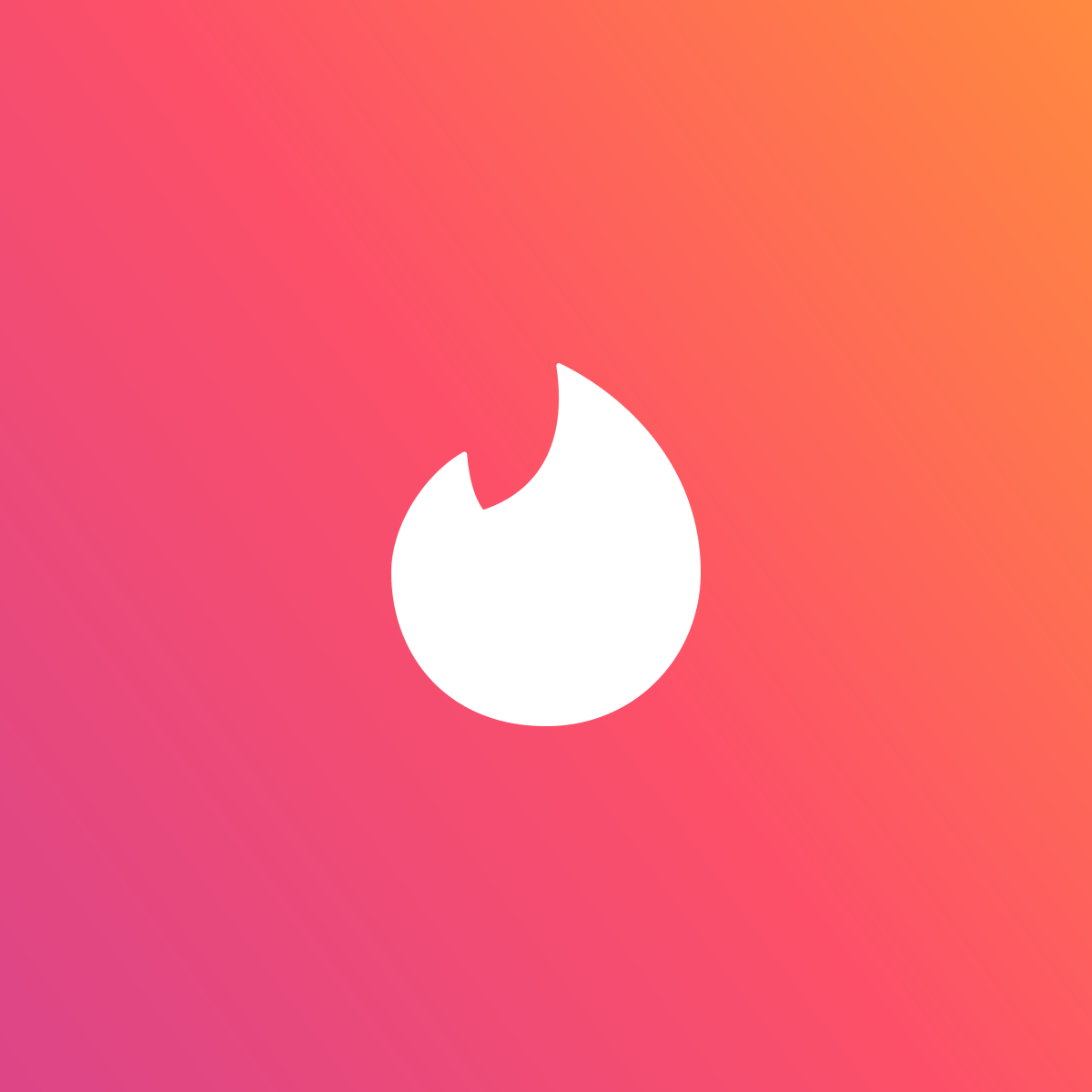 Logo do Tinder