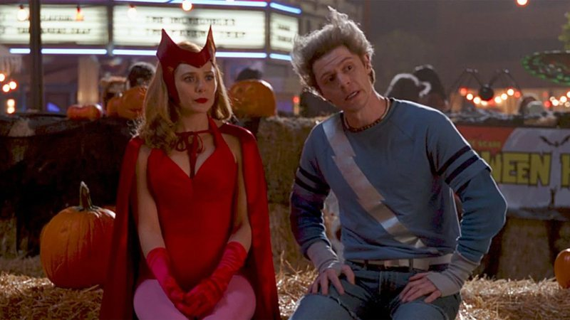 Pietro e Wanda em WandaVision