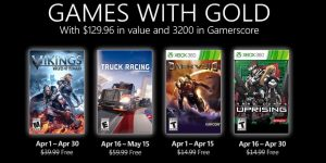 Xbox Games with Gold de abril de 2021